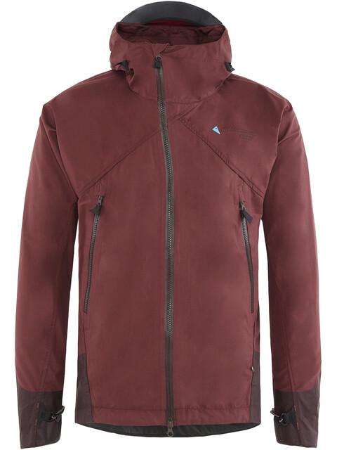 Klättermusen M's Einride Jacket Burnt Lava